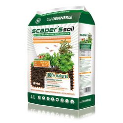 Dennerle Scaper's Soil – Питательный грунт 1-4 мм 4 л