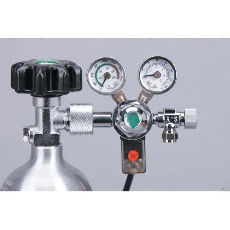 Редуктор ISTA СО2 фронтальный с электромагнитным клапаном