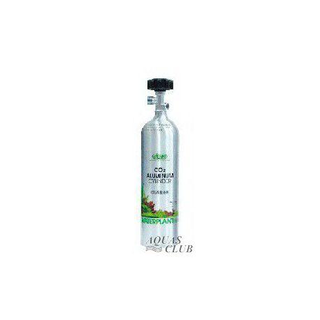 Баллон ISTA CO2 1 литр, алюминиевый, с горизонтальным выходом под редуктор
