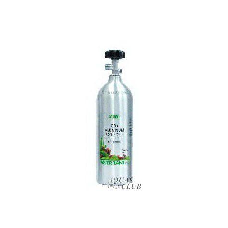 Баллон ISTA CO2 2 литра, алюминиевый, с горизонтальным выходом под редуктор