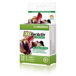 Dennerle E15 FerActiv - Железосодержащее удобрение в таблетках, 10шт на 1000л