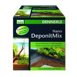 Dennerle Nano Deponit Mix - Специальная грунтовая подкормка для мини-аквариумов. Готовая смесь, 1 кг