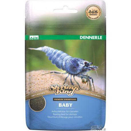 Dennerle Shrimp King Baby - Основной корм премиум класса в форме гранул для молодняка креветок, 30 г